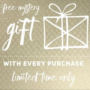 *LIMITED TIME ONLY* FREE GIFT WITH EVERY PURCHASE!